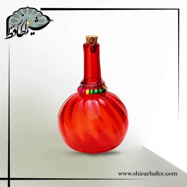 خرید بطری کوزه ای شیشه ای ، دارای درپوش چوب پنبه از فروشگاه اینترنتی شیراز حافظ . مناسب برای استفاذه ی روزمره و استفاده در دکوراسیون .