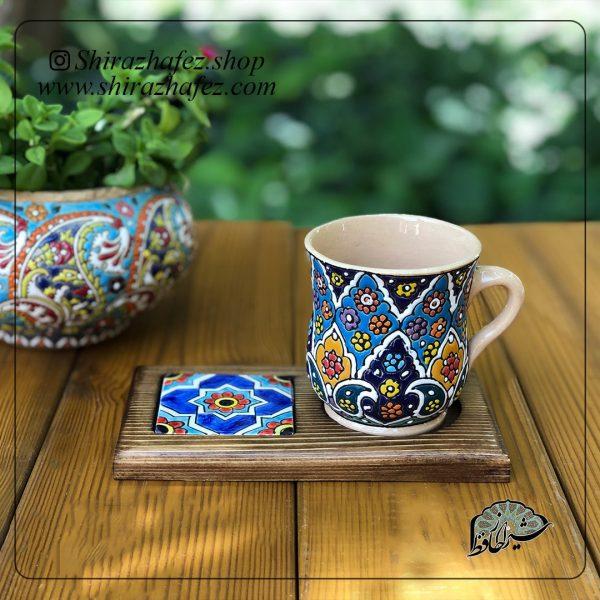 لیوان برجسته کد 01 ساخته شده از سفال و سرامیک ،خرید آنلاین صنایع دستی سرامیکی در فروشگاه آنلاین صنایع دستی شیراز حافظ . عرضه کننده محصولات دکوراتیو و کاربردی