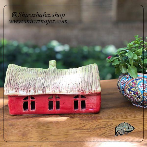 جاشمعی خانه بزرگ05 ساخته شده از سفال و سرامیک ،خرید آنلاین صنایع دستی سرامیکی در فروشگاه آنلاین صنایع دستی شیراز حافظ . عرضه کننده محصولات دکوراتیو و کاربردی